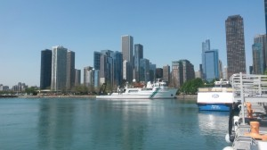 Downtown from Navy Pier (lake view)