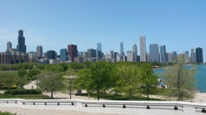 Downtown from Shedd Aquarium